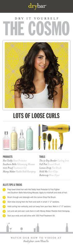 http://shop.thedrybar.com  #hair #blowouts #howto #curlyhair #drybar
