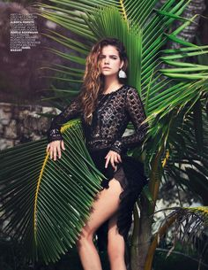 #BarbaraPalvin by #DavidBellemere for #MarieClaireItalia May 2014