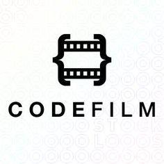 Film Strip Logo Designs For Sale on Stock Logos   Core Photography logoCode Film logo