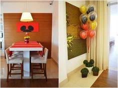 decoracao aniversario mickey