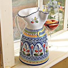 Hand-Made Sangria Pitcher at Wine Enthusiast - $59.95