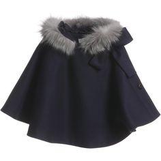 Baby Alice Aqua Tweed Coat | Blue - I would like it better ...