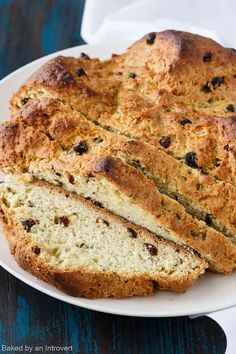 This Irish Soda Bread is a family favorite for St. Patrick's Day. It's flavored with fragrant caraway seeds and plump dark raisins.