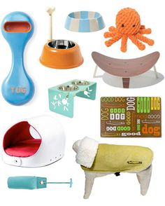 Of course their modern dog house would feature some great modern accessories.