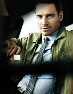 Michael Fassbender GQ Military Jacket