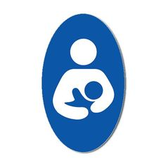 """International Symbol of Breastfeeding: Says, """"This is a safe space to nurse!"""""""