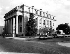 U.S. Post office and Land office building - Gainesville, Florida 1974. Now the Hippodrome Theater.