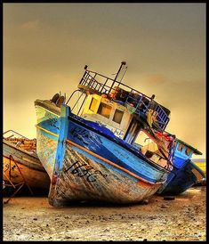 The End of the Old Boat by Bashar Shglila