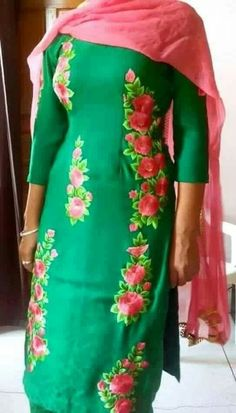 608 Best Punjabi Suits Images Indian Dresses Anarkali Suits