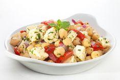 Light & Delicious Recipe: Chickpea, Tomato and Feta Salad - 12 Tomatoes