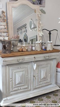 80 meilleures images du tableau mobilier henri ii antique furniture old furniture et painted - Customiser un meuble ancien en bois ...