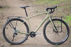 """Bicycle Times Trek 920The Trek 920 blurs the line between """"gravel"""" bikes and loaded touring bikes."""