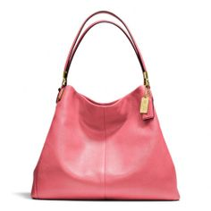 The Madison Phoebe Shoulder Bag In Leather from Coach