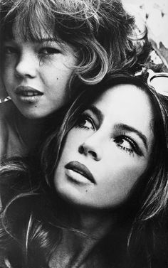 Leslie Caron & her Daughter