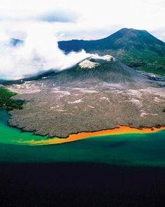 Volcano, Papua New Guinea