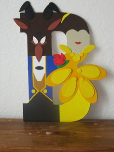 Disney Couples Letter Art by TheLetterBug on Etsy
