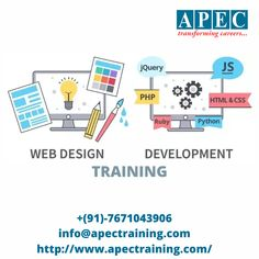 Join with APEC web development training (online and classroom) and make REAL web applications using cutting-edge technologies. Learn how to write browser-based games, create complex HTML forms with validations, portfolio sites, landing pages etc. Ui Developer, Web Design Training, Online Training Courses, Classroom Training, Best Computer, Portfolio Site, Business Education, Career Goals, Web Application