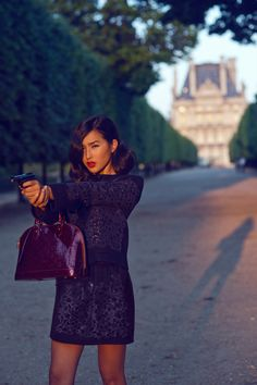 LOUIS VUITTON – THE SPY WHO LOVED ME. Nicole Warne. Gary Pepper Vintage Blogger.