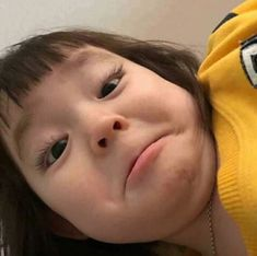 Cute Baby Meme, Baby Memes, Cute Asian Babies, Korean Babies, Cute Little Baby, Little Babies, Kids Girls, Baby Kids, Cute Baby Girl Pictures