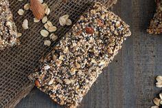 Quinoa Chía Barras de Proteína Semilla - Quinoa Cocinar