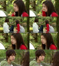 Kim Hyun Joong 김현중 ♡ as Baek Seung Jo ♡ Playful Kiss episode 9 ♡ haha ♡ Kdrama ♡ Kpop ♡ Jung So Min as Oh Ha Ni