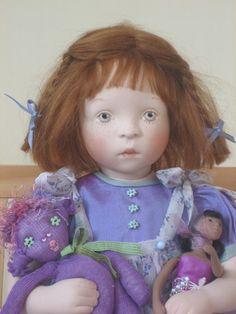 Sylvia Natterer SUNDAY AFTERNOON collection doll_JODI, 2008