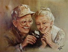 """DIY Diamond Painting """"old Couple"""" Square/Round Resin Drill Embroidery Full display Cross Stitch Rhinestone Wall Art Vieux Couples, Old Couples, Animation, Image Citation, Growing Old Together, Diamond Drawing, Grandma And Grandpa, Old Love, Cross Paintings"""