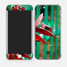 RED LEAF iPhone 6 Skins Online In india #mobileSkins #PhoneSkins #MobileCovers #MobileCases http://skin4gadgets.com/device-skins/phone-skins