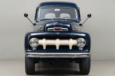 Ford's Ranger is Europe's best-selling pick-up, but the nameplate actually has its origins in the U. In Ford teamed up with specialist Marmon Harrington to help create this, the Ford Ranger. 1951 Ford Truck, Old Ford Trucks, Old Pickup Trucks, Diesel Trucks, Cool Trucks, Big Trucks, Ford F1, Old Ford Pickups, Bicicletas Raleigh