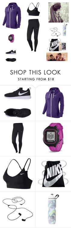 """The Twin Alpha's #20"" by jazmine-bowman on Polyvore featuring NIKE, Garmin, AIAIAI and Victoria's Secret"