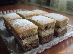 Dvojaký tvarohový koláč