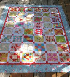'The Farmer's Wife Quilt Revival Class 1.   Twelve Lessons or Classes = a beautiful queen size quilt!  Or take  as many classes as you like!  If you only want a to make a great table runner or topper, you'll only need to take the first 2-3 Classes. Take a few more classes and end up with a lap size quilt.  The choice is yours! New Farmer's Wife Quilt Revival Lesson on line now! http://www.craftsy.com/pattern/quilting/home-decor/farmers-wife-quiltalong-class/80577