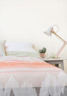 bedroom / blanket