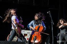 The Avett Brothers at Mountain Jam Music Festival.