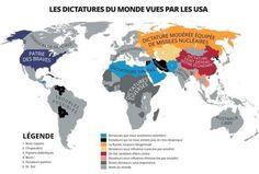 LES DICTATURES DU MONDE VUES PAR LES USA