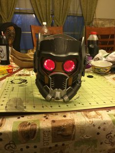 For Sale: Fan Made Guardians of the Galaxy Star-Lord helmet. Helmet is made of…