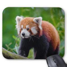 Red Panda マウスパッド