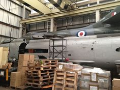 Until 1992, visitors to RAF Boulmer were met with the sight of an English Electric Lightning F3 interceptor standing guard by the entrance. For the past two decades, Lightning XP745 has been in indoor storage, as these photographs reveal.