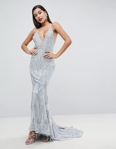 Buy ASOS EDITION Heavily Embellished Cami Strap Maxi Dress at ASOS. With free delivery and return options (Ts&Cs apply), online shopping has never been so easy. Get the latest trends with ASOS now. Sequin Dress, Beaded Dresses, Maxi Dresses, Jumpsuit Dress, Occasion Wear, Formal Dresses, Ladies Dresses, Cami, Women