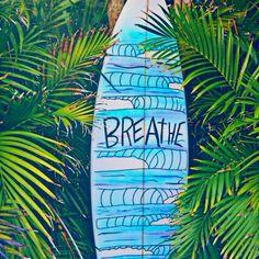 breathe . seems pretty simple . takes practice