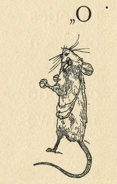 Illustrations by L.W.R. Wenckebach for In De Muizenwereld by Agatha Snellen (Netherlands, 1894)