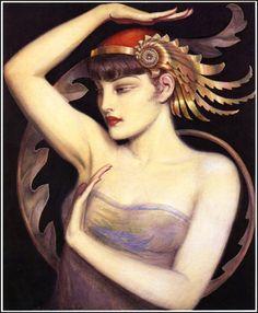 Polish born Art Deco artist Wladyslaw Teodor Benda (1873 -1948) http://littlebunnysunshine.tumblr.com/post/36108823568/polish-born-art-deco-artist-wladyslaw-teodor-benda