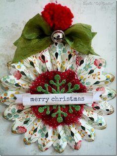 cafe creativo - Anna Drai - sizzix big shot - christmas tree (3)