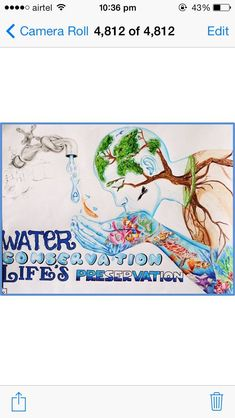 best 25 save water drawing ideas on best 25 save water drawing ideas on water water Save Earth Drawing, Save Water Poster Drawing, Save Environment Posters, Environment Painting, Earth Drawings, Art Drawings For Kids, Drawing Ideas, Save Earth Posters, Poster On Save Water
