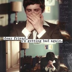 How I feel when I write my letters to Chris... Rest in Peace Chris <3