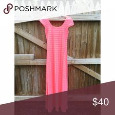 Lilly Pulitzer Ramsey Maxi Dress Lilly Pulitzer Ramsey Maxi Dress in Yummy Melon. Size Small. Lilly Pulitzer Dresses Maxi