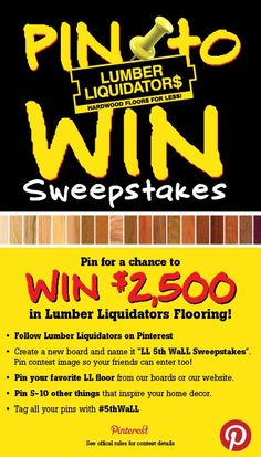 LL fifth wall sweepstakes