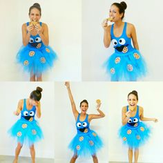 Image result for diy bird costume women ice show costumes homemade cookie monster costume more solutioingenieria Choice Image