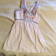 White casual dress White dress from American Eagle. Size 0. American Eagle Outfitters Dresses Mini