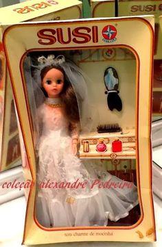 Boneca Susi Noiva 80s